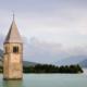 Lago di resia_campanile